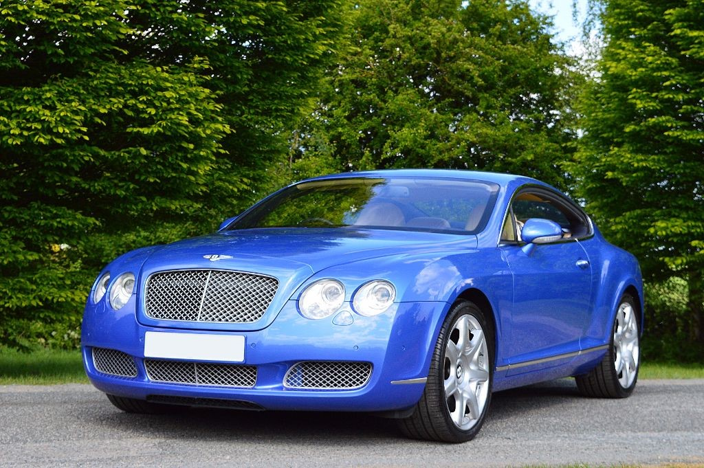 Used Neptune Blue Bentley Continental Gt For Sale Essex