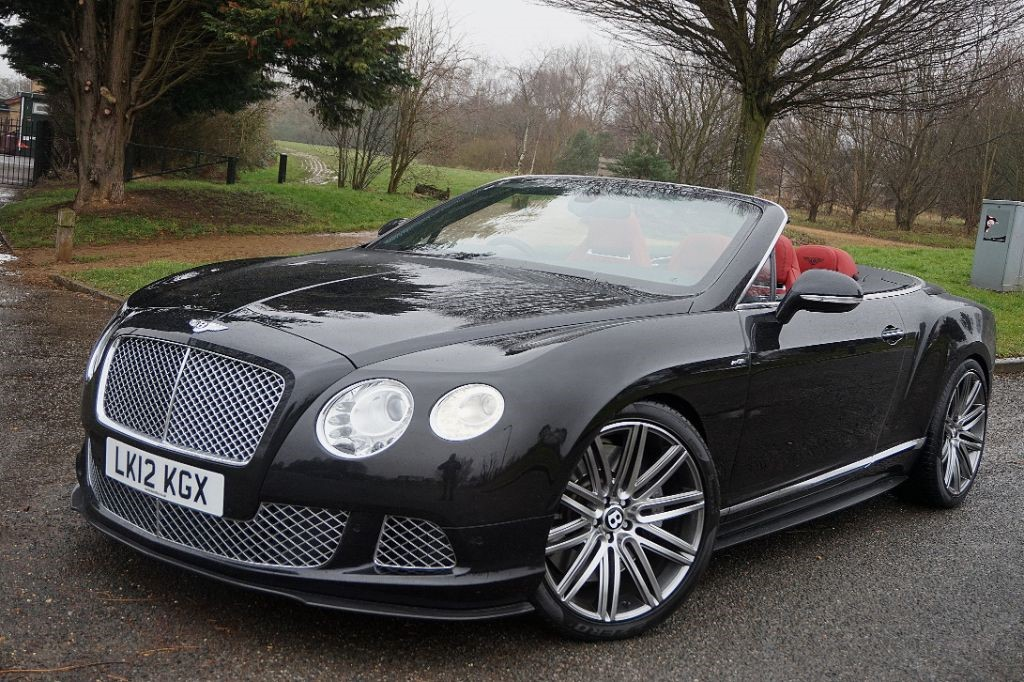 used onyx black bentley continental gtc for sale essex. Black Bedroom Furniture Sets. Home Design Ideas