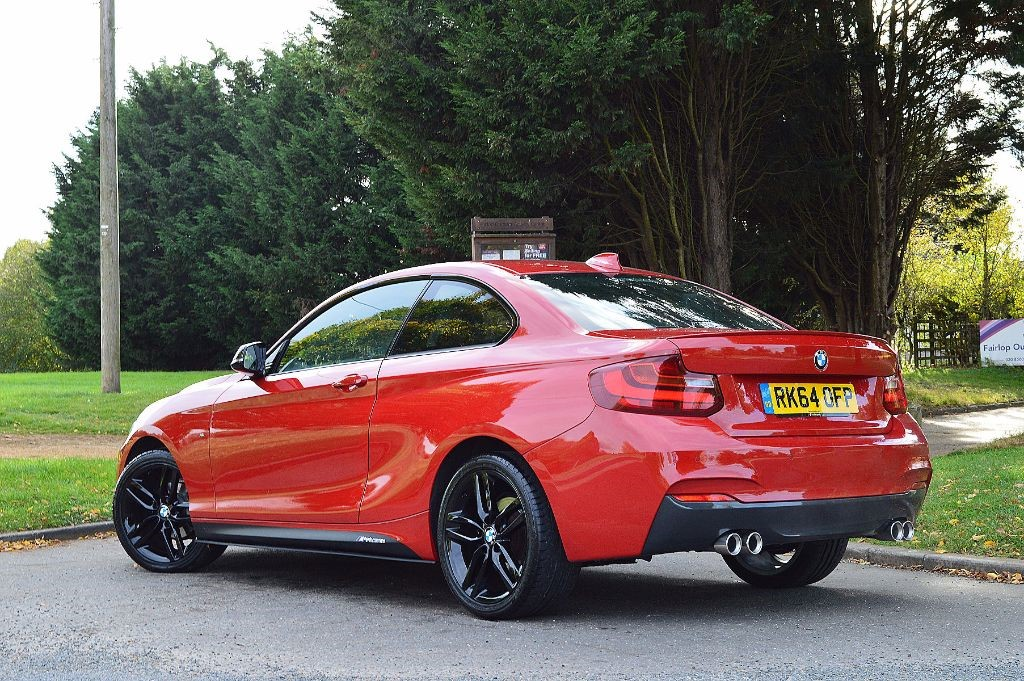 Used Melbourne Red Bmw 218d For Sale Essex