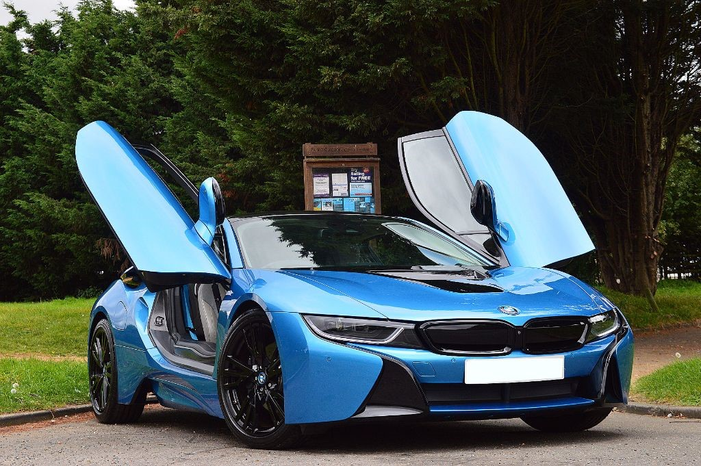 I8 Exterior: Used Protonic Blue BMW I8 For Sale