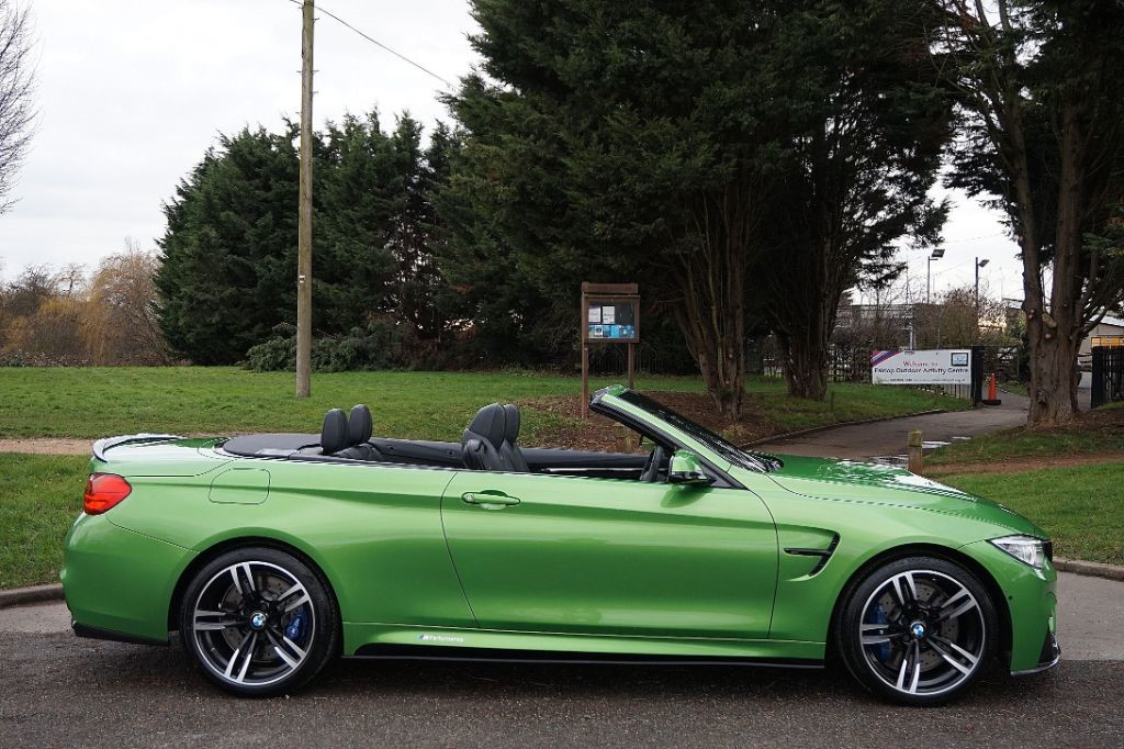 Used Individual Java Green Bmw M4 For Sale Essex