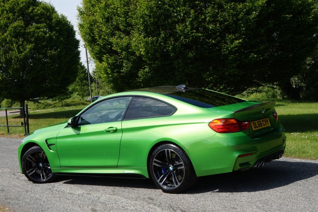 Used Individual Java Green BMW M4 for Sale | Essex