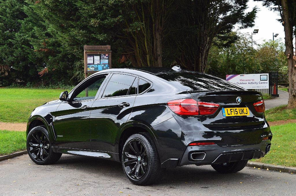 Used Saphire Black Bmw X6 For Sale Essex