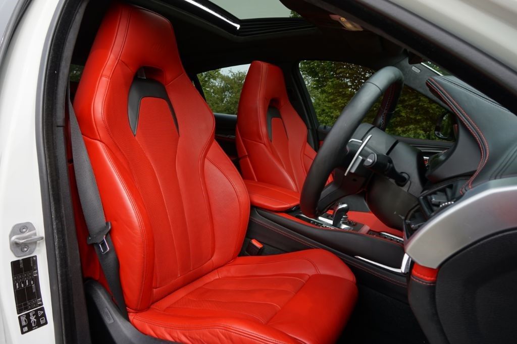 Used Alpine White Bmw X6 M For Sale Essex