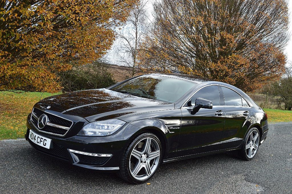 Used obsidian black mercedes cls for sale essex for Mercedes benz cls550 for sale by owner