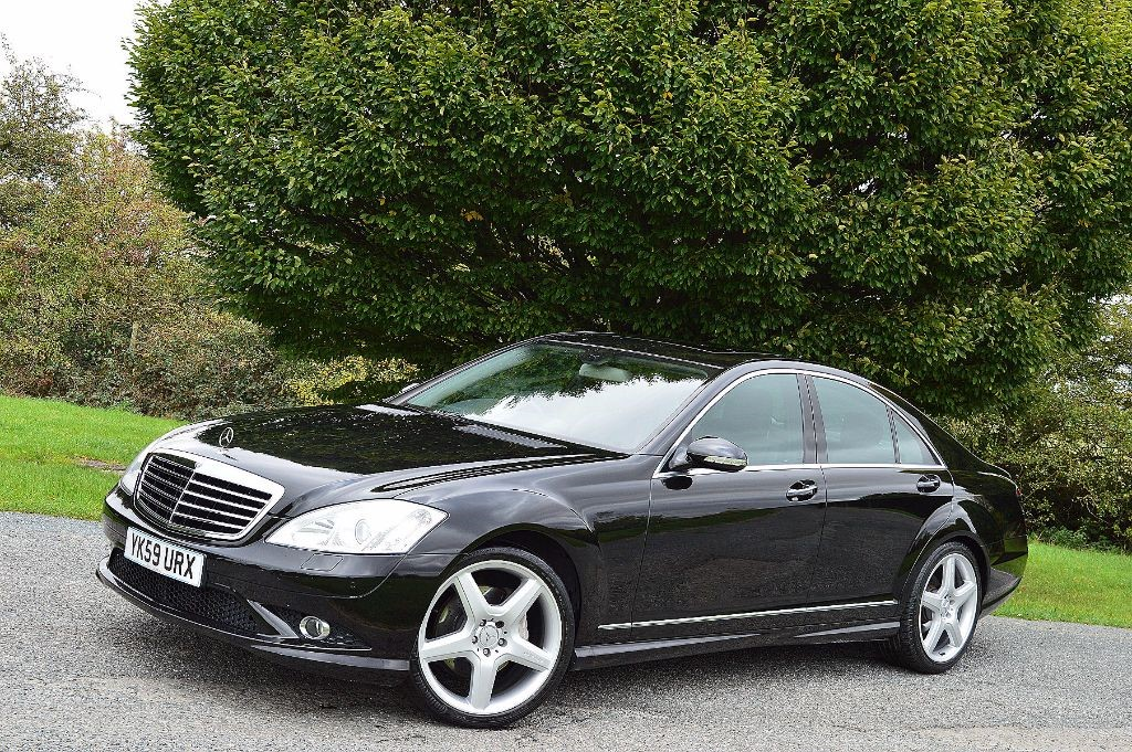 Used obsidian black mercedes s320 for sale essex for Mercedes benz s320 price