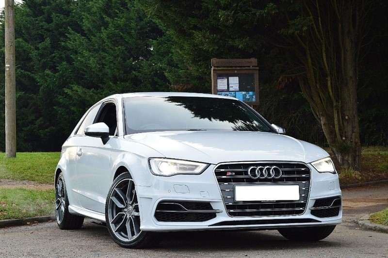 used Audi A3 S3 QUATTRO ** QUILTED SEATS ** SAT NAV ** in essex