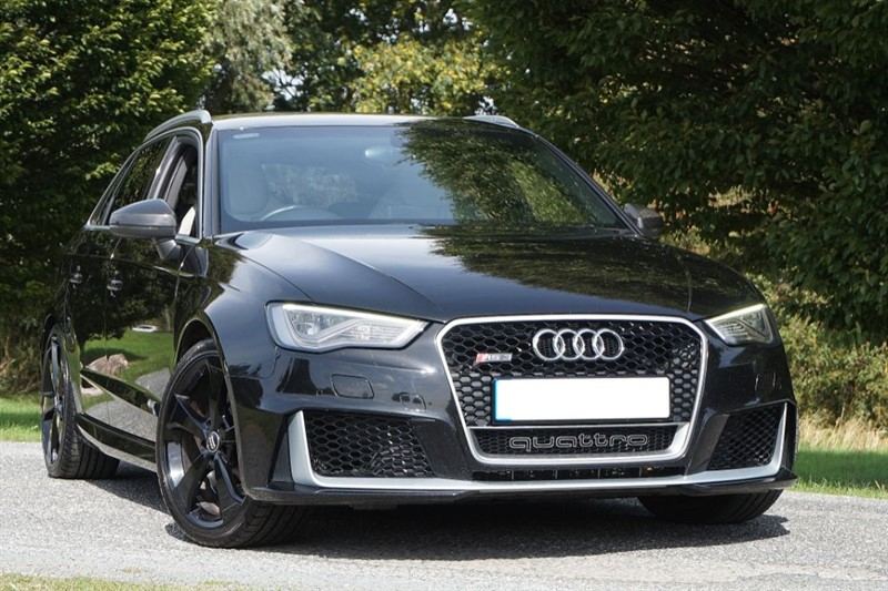 used Audi RS3 RS3 SPORTBACK QUATTRO ** SUPER SPORT QUILTED BUCKET SEATS ** in essex