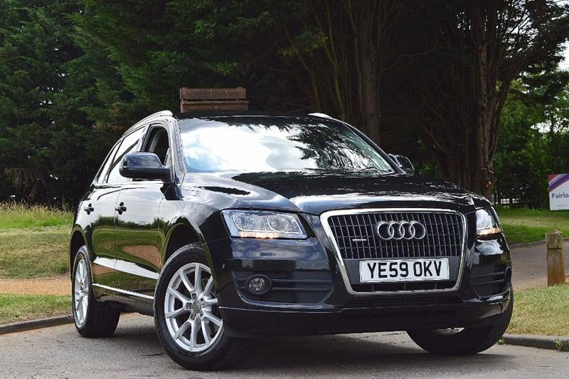 used Audi Q5 TDI QUATTRO SE ** FULL LEATHER & SAT NAV ** in essex