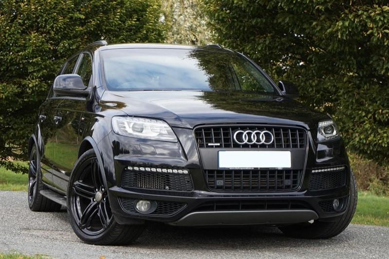 used Audi Q7 TDI QUATTRO S LINE PLUS ** TRIPLE BLACK ** 1 OWNER ** in essex