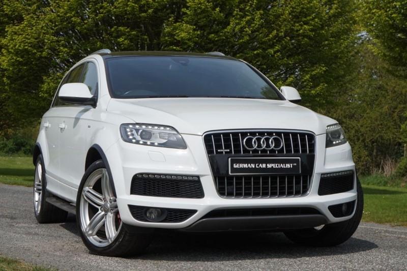 used Audi Q7 TDI QUATTRO S LINE PLUS ** PAN ROOF & 21 in essex