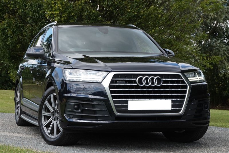 used Audi Q7 TDI QUATTRO S LINE ** HEAD UP + VIRTUAL COCKPIT + REAR TV'S ** in essex