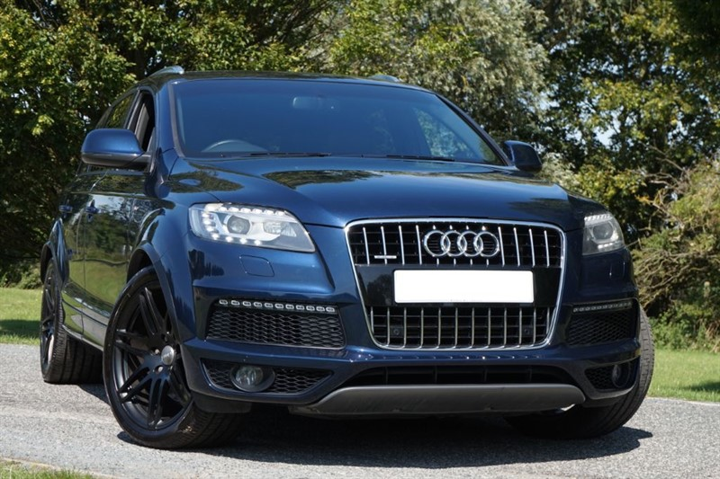 "used Audi Q7 TDI QUATTRO S LINE ** 21"" WHEELS ** in essex"