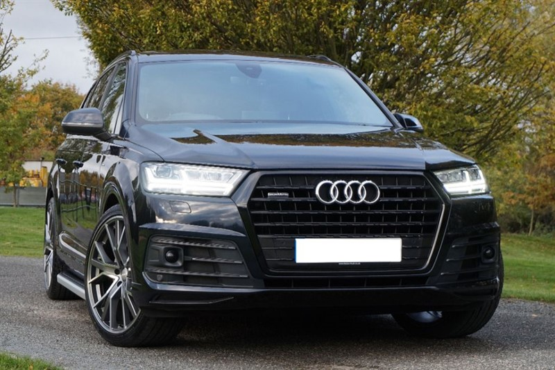 used Audi Q7 TDI QUATTRO S LINE ** HEAD UP & VIRTUAL COCKPIT ** TOP SPEC ** in essex