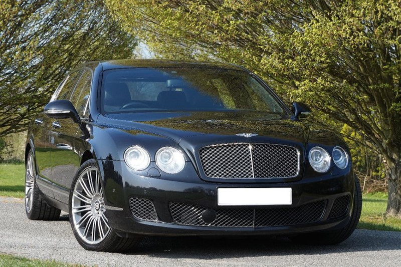 used Bentley Continental Flying Spur SPEED ** ONLY 1 PREVIOUS OWNER **TRIPLE BLACK ** in essex