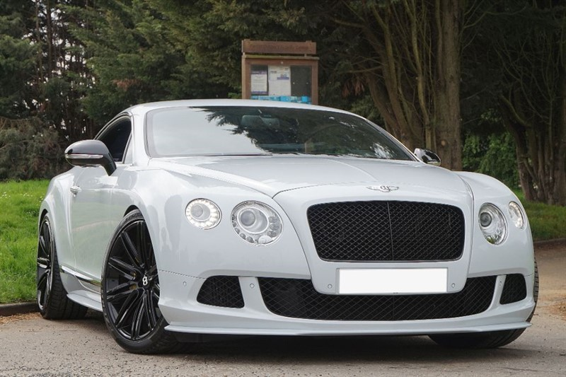 used Bentley Continental GT MDS ** SPECIAL ORDER ICE WHITE ** SPEED CONVERSION ** in essex