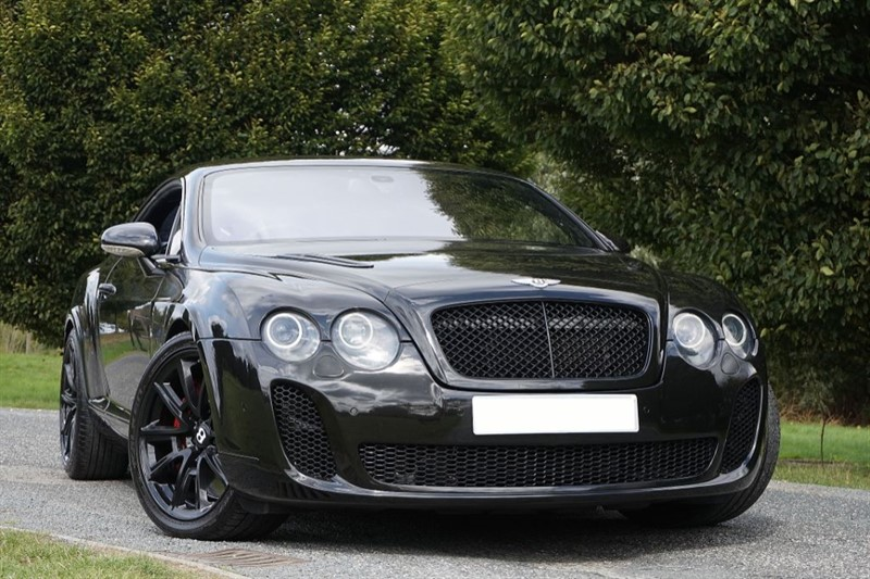 used Bentley Continental GT  ** TRIPLE BLACK ** SUPER SPORT CONVERSION **  in essex