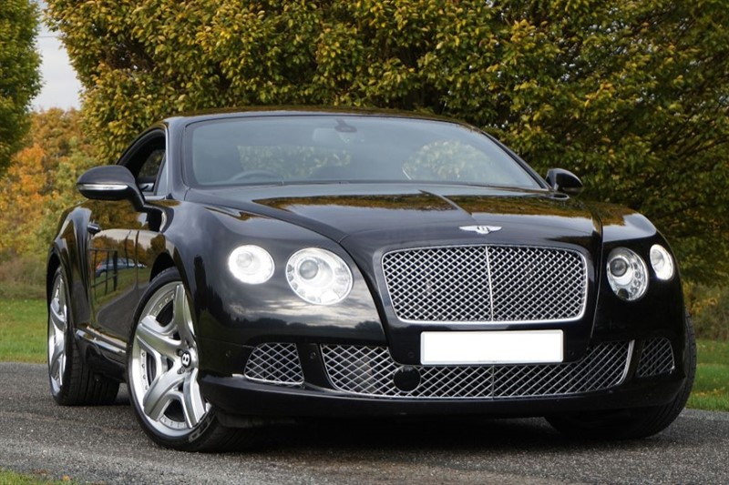 used Bentley Continental GT MULLINER DRIVING SPEC ** TRIPLE BLACK ** in essex