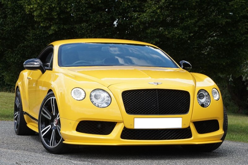 used Bentley Continental GT V8 ** INDIVIDUAL SPEED YELLOW **  in essex