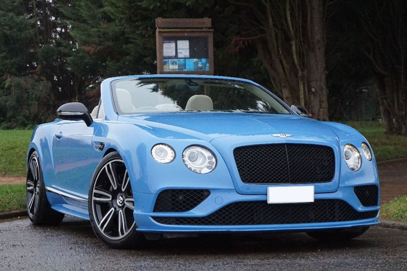 used Bentley Continental GTC V8 ** COMPLETE 2016 FACE LIFT CONVERSION ** in essex