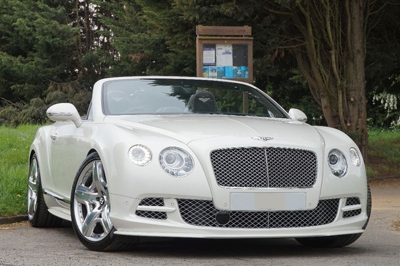 used Bentley Continental GTC ** SPECIAL ORDER GHOST WHITE ** in essex