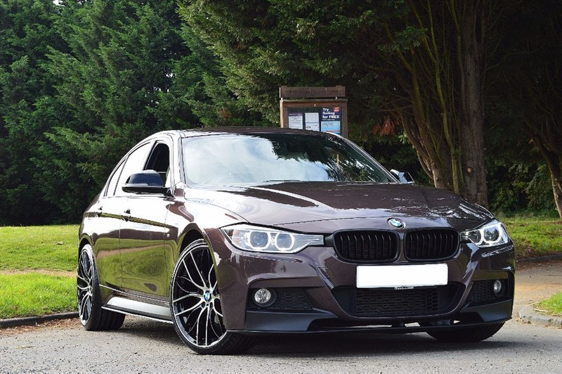 used BMW 320d M SPORT ** INDIVIDUAL ** WHITE NAPPA LEATHER ** in essex
