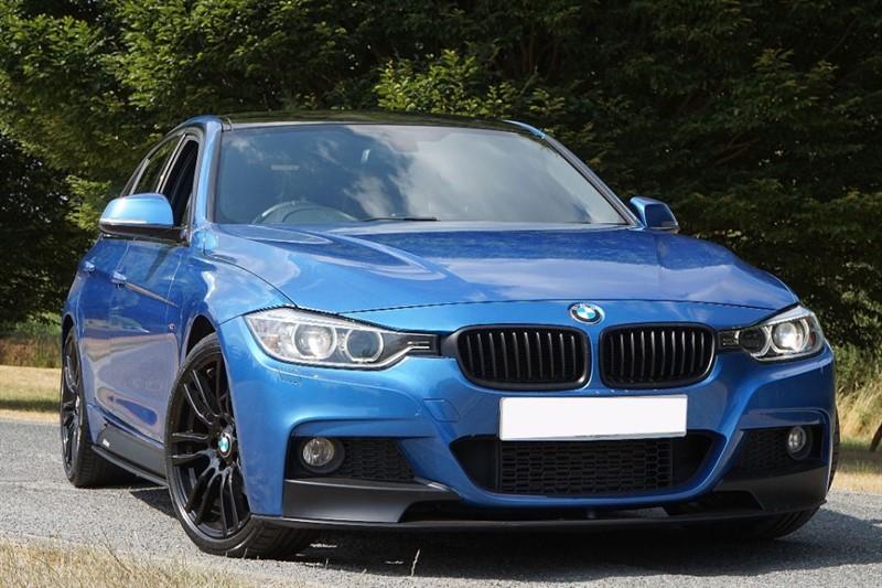 used BMW 320d M SPORT ** PRO SAT NAV & PERFORMANCE BODY KIT ** in essex