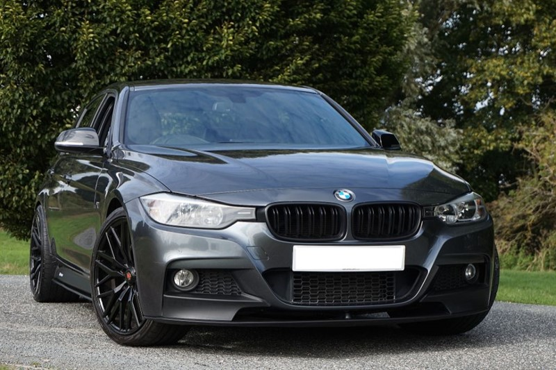 "used BMW 320d M SPORT ** PERFORMANCE BODY KIT ** 20"" WHEELS ** in essex"