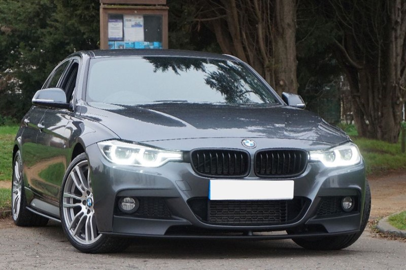used BMW 320d M SPORT ** PRO SAT NAV & PERFORMANCE BODY KIT ** in essex