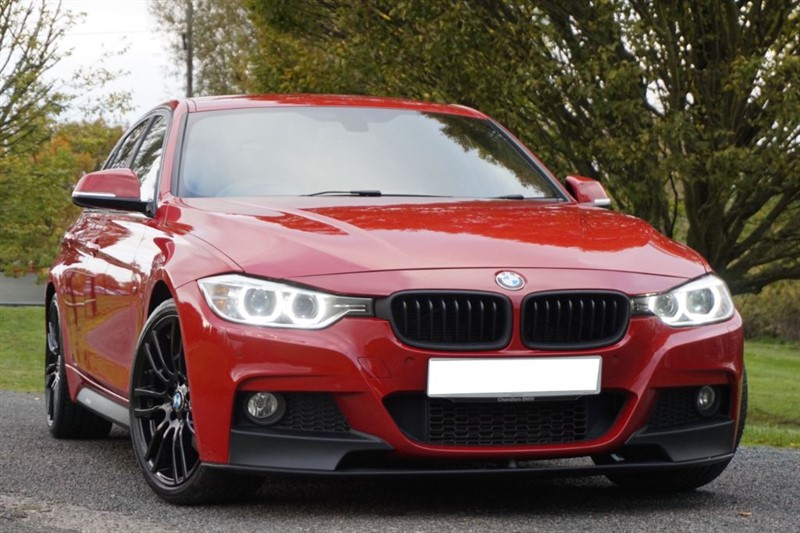 used BMW 320d M SPORT ** PRO NAV + XENONS + TOP SPEC ** in essex