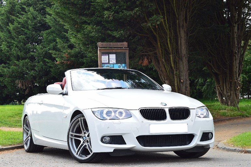 used BMW 320i M SPORT ** FACE LIFT MODEL ** RED LEATHER ** in essex