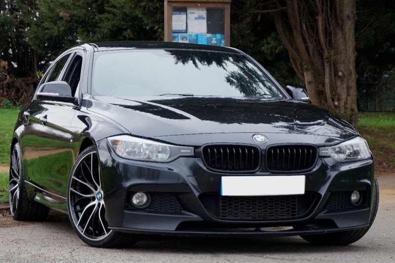 used BMW 325d M SPORT ** SAT NAV & PERFORMANCE BODY KIT ** in essex
