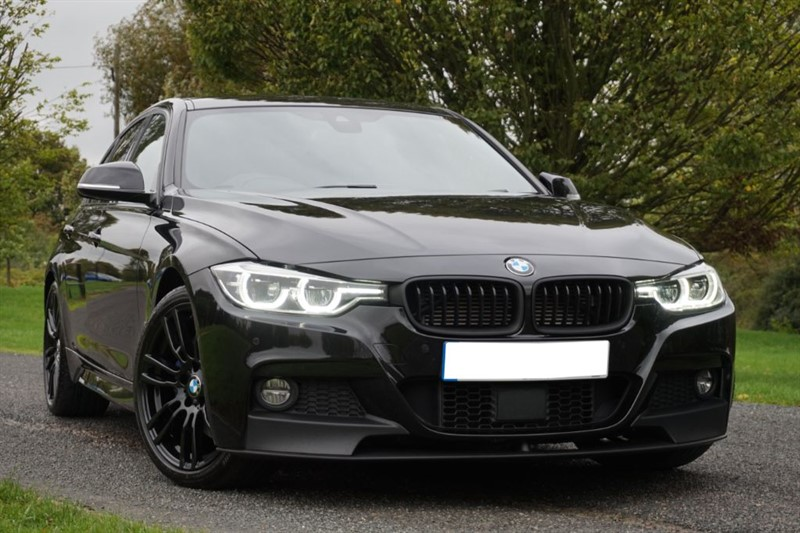used BMW 330e M SPORT ** TRIPLE BLACK ** SURROUND VIEW CAM ** TOP SPEC ** in essex