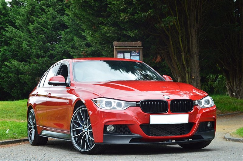 used BMW 335d M SPORT ** INDIVIDUAL WHITE NAPPA ** BIG SPEC ** in essex