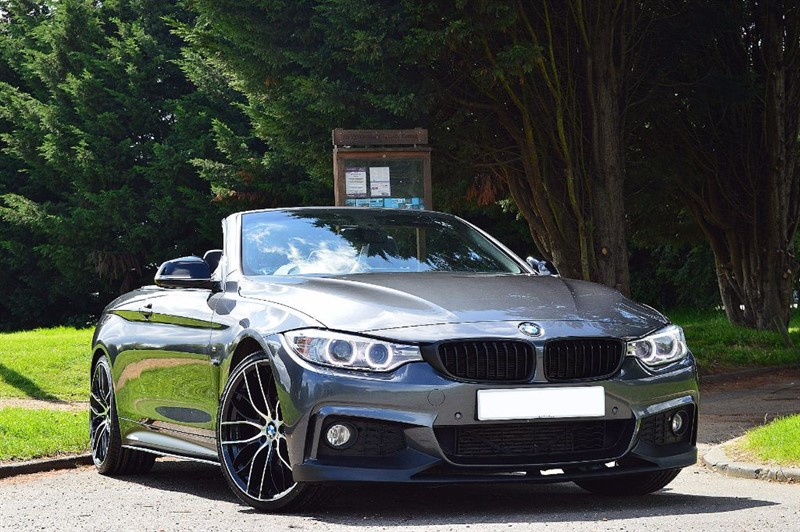 used BMW 420d M SPORT ** BIG SPEC ** PRO NAV & AIR COLLAR ** in essex