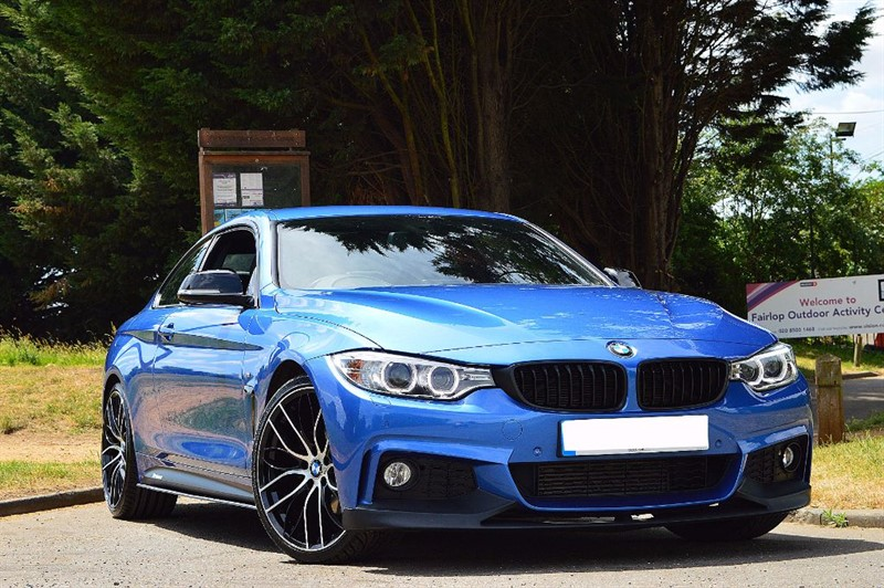 used BMW 420d M SPORT ** TOTALLY IMMACULATE **  in essex
