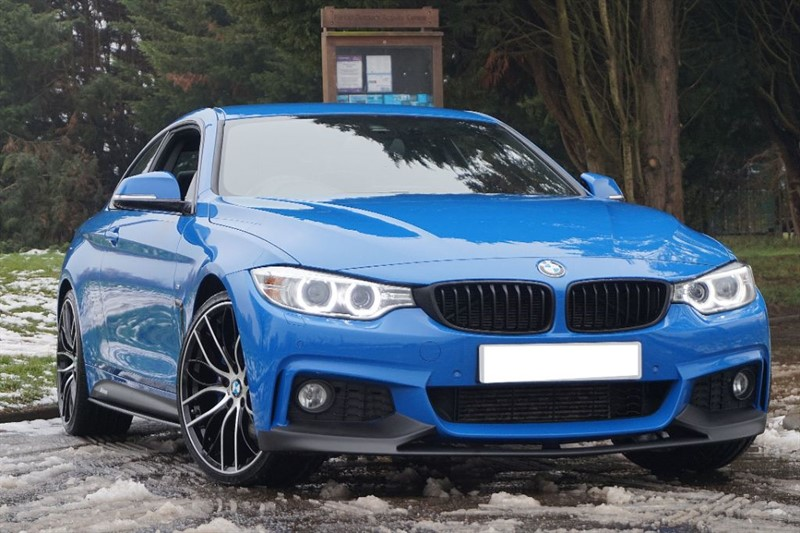 used BMW 420d M SPORT ** INDIVIDUAL PAINT ** M SPORT PLUS PACK ** in essex