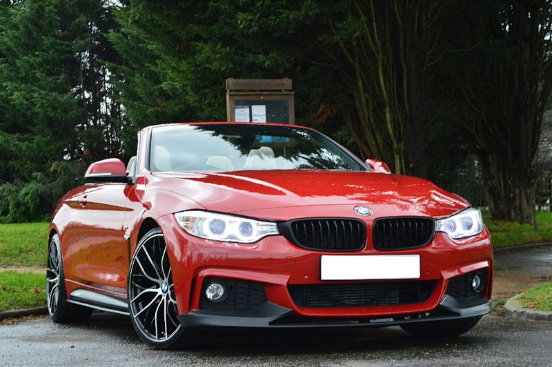 used BMW 430d M SPORT ** HEATED STEERING WHEEL & NECK HEATING ** in essex