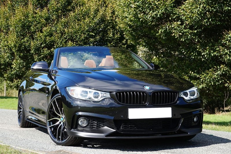 used BMW 430d M SPORT ** SPECIAL ORDER CINNAMON LEATHER ** in essex