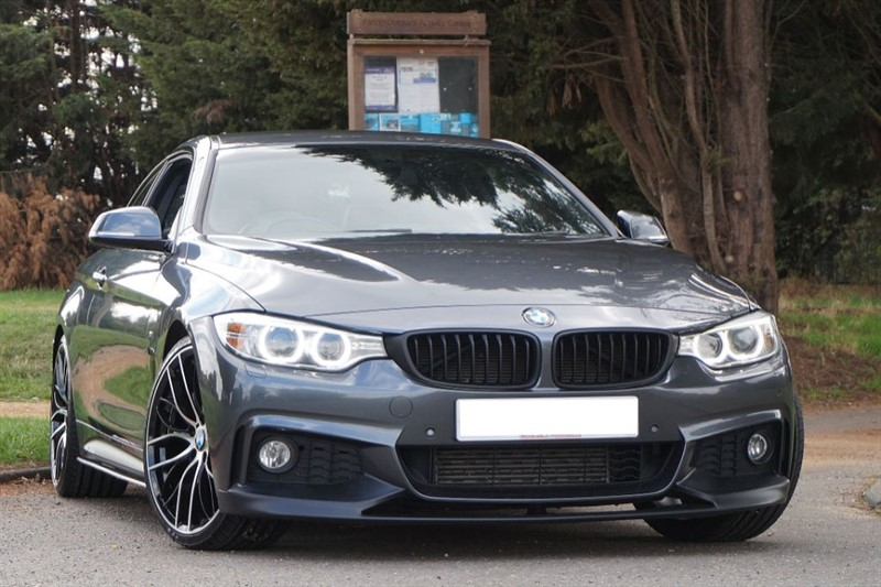 used BMW 430d M SPORT ** SAT NAV & PERFORMANCE BODY KIT ** in essex