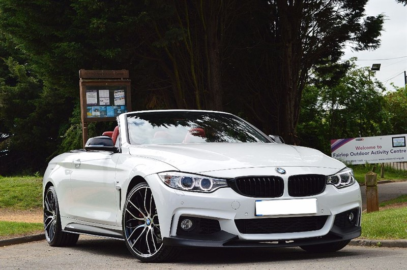 used BMW 435i M SPORT ** RED LEATHER ** BIG SPEC **  in essex