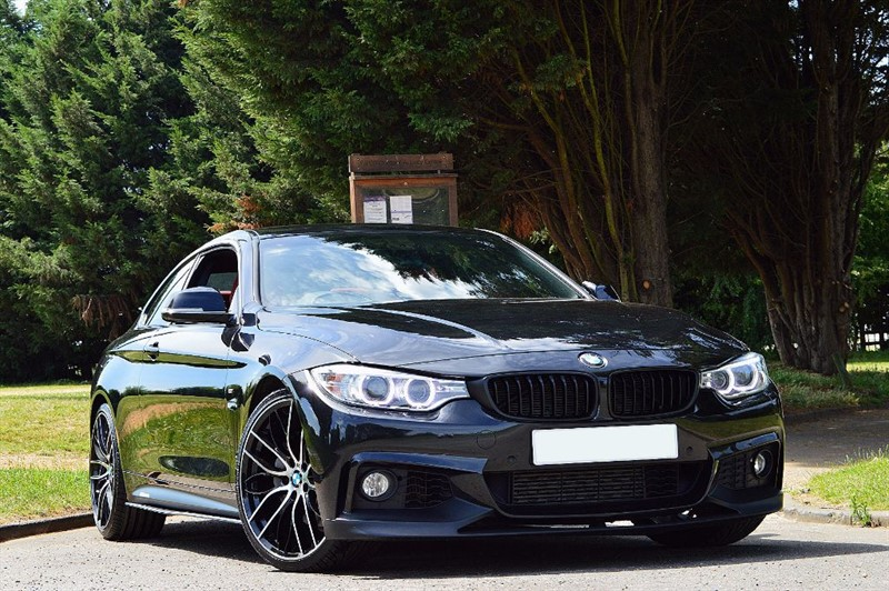 used BMW 435i M SPORT ** RED LEATHER ** PRO SAT NAV ** in essex