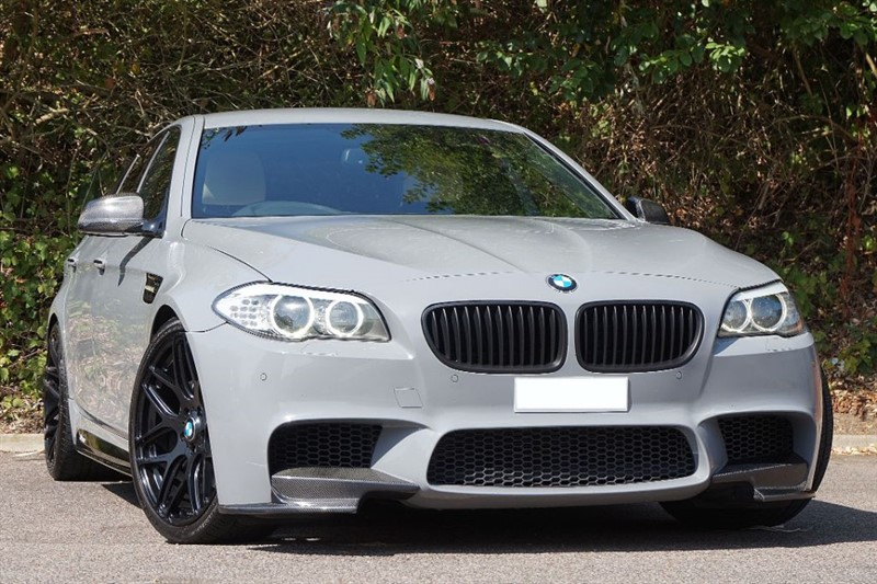 used BMW 525d ** INDIVIDUAL NARDO GREY ** FULL M5 CONVERSION ** in essex