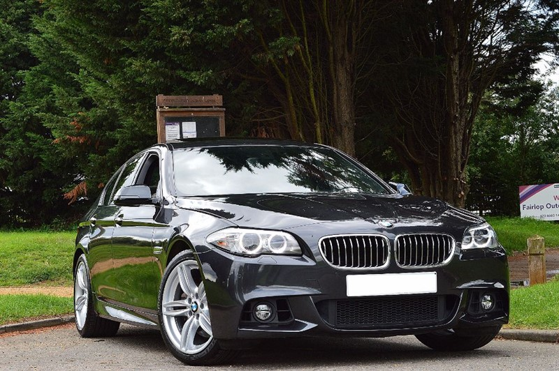 used BMW 535i M SPORT ** VAT Q ** HEAD UP DISPLAY ** RARE 535i ** in essex