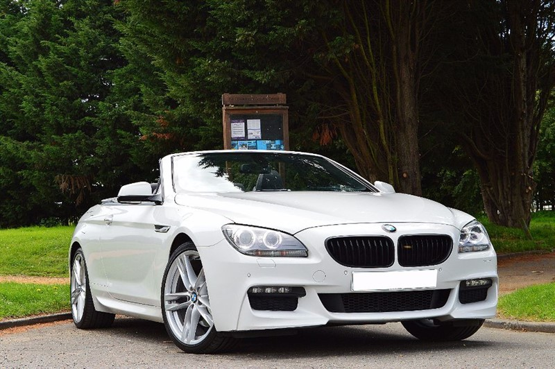 used BMW 640d M SPORT ** 1 PREVIOUS OWNER ** FULL BMW HISTORY ** in essex