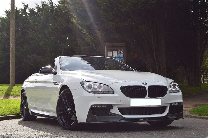 used BMW 640d M SPORT ** CARBON BODY STYLING ** TOP SPEC **  in essex