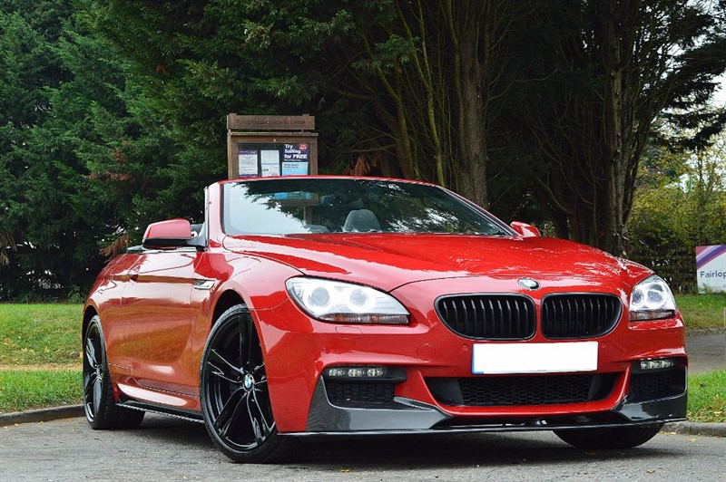 used BMW 640d M SPORT ** CARBON STYLING & COMFORT ACCESS ** in essex