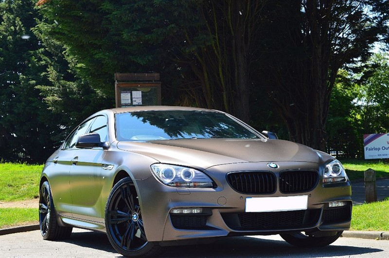 used BMW 640d M SPORT GRAN COUPE ** INDIVIDUAL FROZEN BRONZE **   in essex