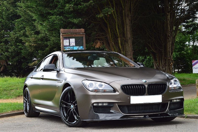 used BMW 640d M SPORT GRAN COUPE ** THE ULTIMATE 640D ** £89,000 FACTORY LIST PRICE ** in essex