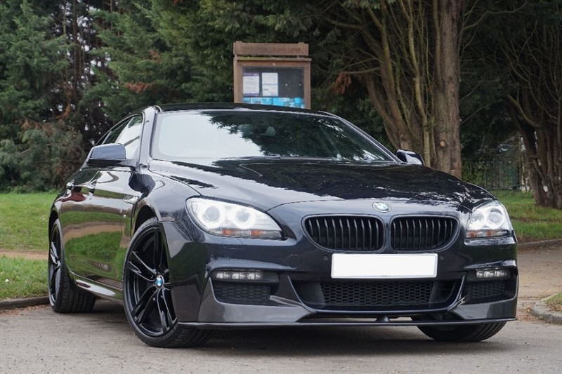 used BMW 640d M SPORT GRAN COUPE ** TRIPLE BLACK **  in essex